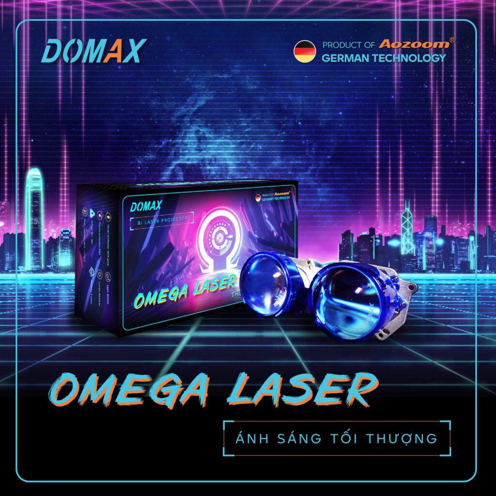 Bi LED Omega Laser