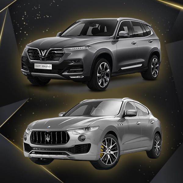 Ca lăng Vinfast Lux SA mẫu Maserati