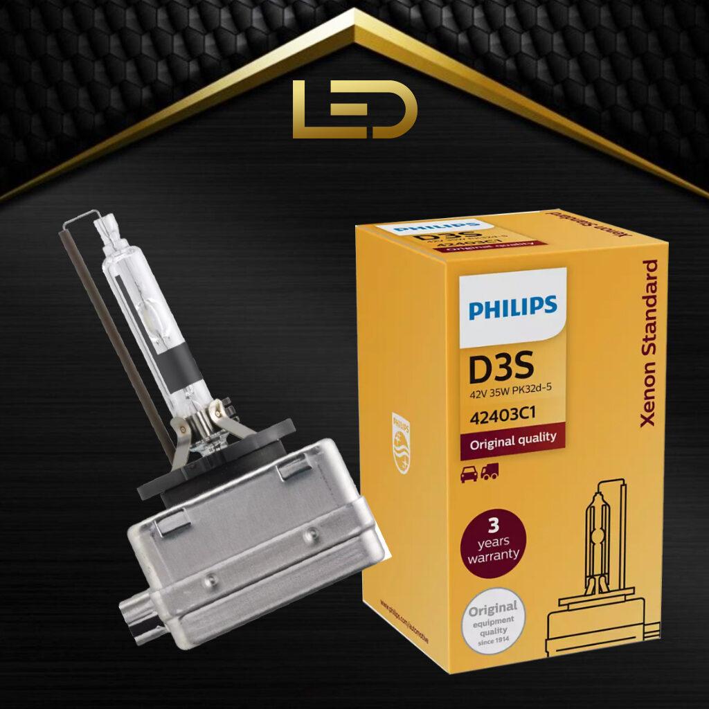 Bóng đèn pha Xenon Standard D3S