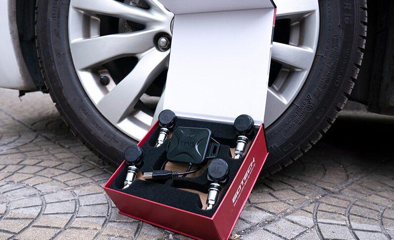 Bộ cảm biến áp suất lốp cho xe hơi
