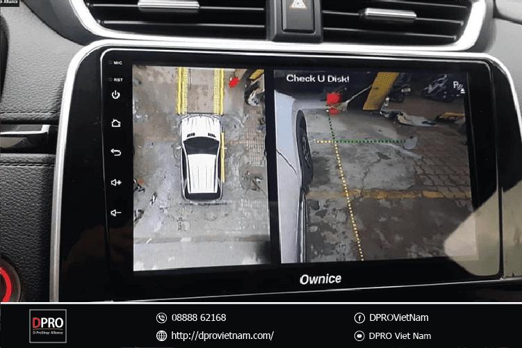 Độ Camera 360 ô tô loại nào tốt, bền, rẻ