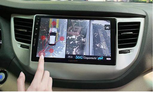 Độ camera 360 cho ô tô   Camera 360 hãng Cogamichi