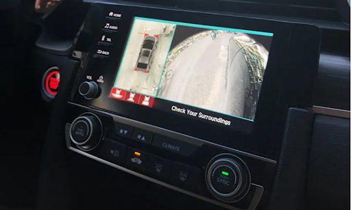 Độ camera 360 cho ô tô   Camera 360 hãng DCT