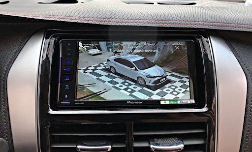 Độ camera 360 cho ô tô   Camera 360 hãng Safeview 3D