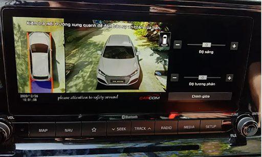 Độ camera 360 cho ô tô   Camera 360 hãng Wanna View