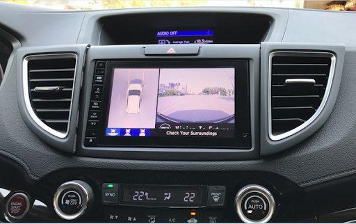 Độ camera 360 cho ô tô   Camera 360 hãng oris