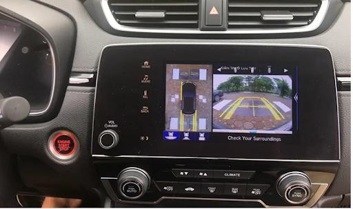Độ camera 360 cho ô tô   Camera 360 hãng oview