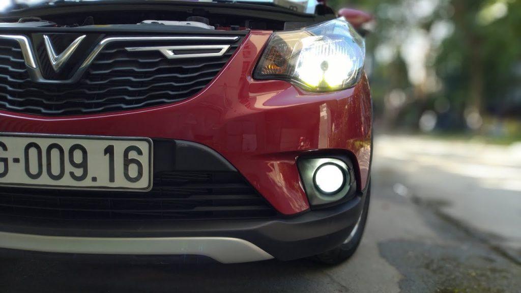 Độ đèn ô tô Vinfast tại Ledtech